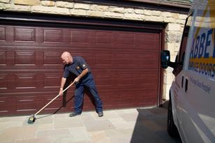 Garage Door, Cleaning Up