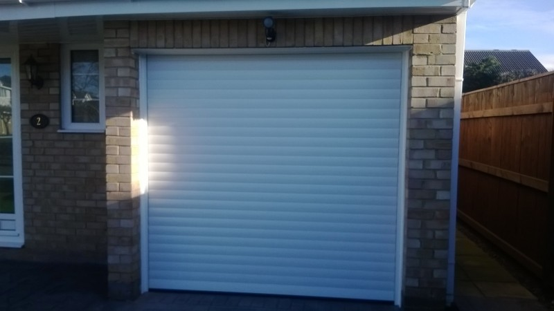 SWS Insulated roller door (After)