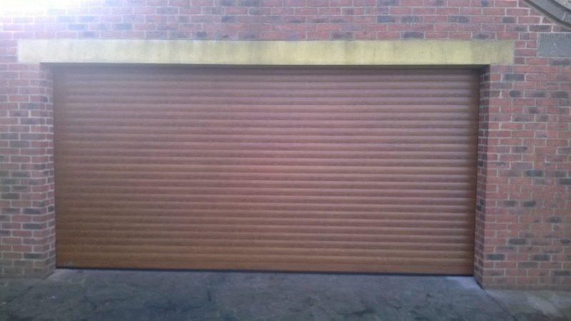 SWS Insulated Roller Door (After)
