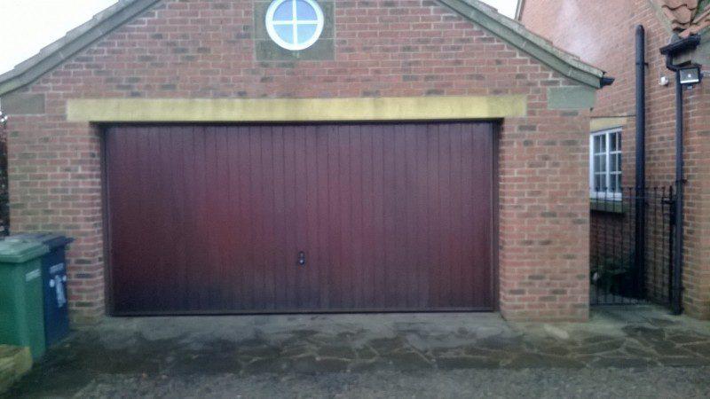SWS Insulated Roller Door (Before)