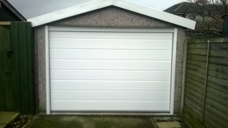 Garador Insulated Sectional Door (After)
