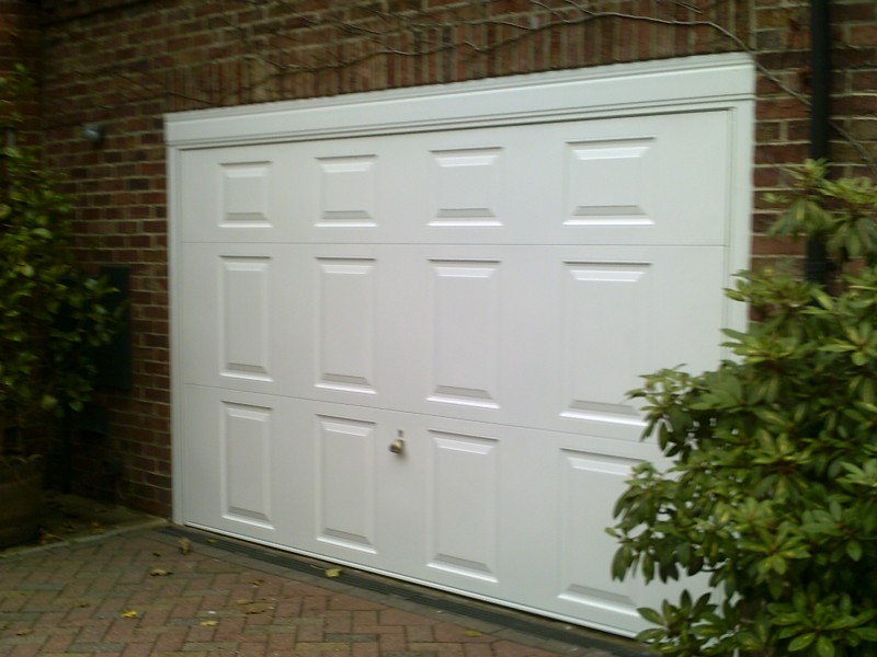 Up and Over Georgian Style Garage Door (After)