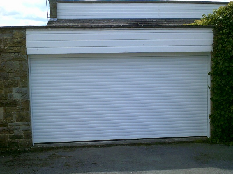 Double Insulated Roller Garage Door (After)