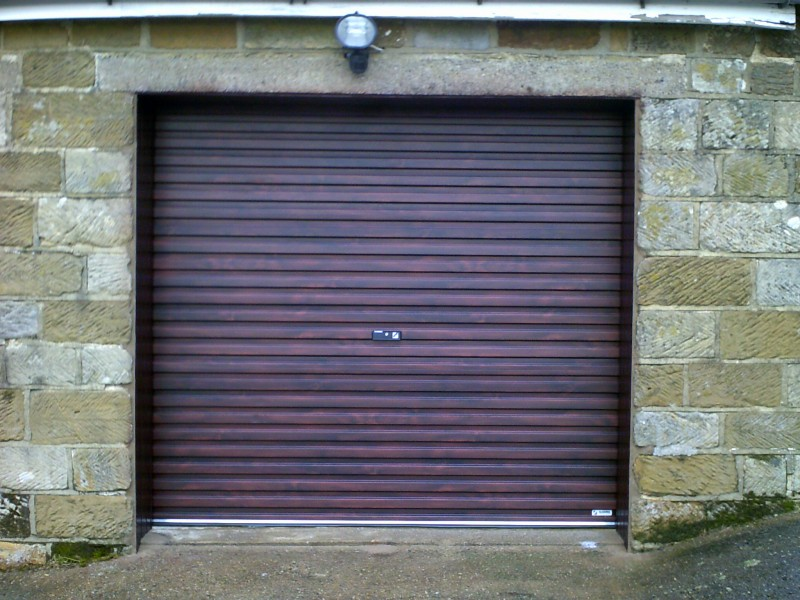 Rosewood Single Skin Roller Door (After)