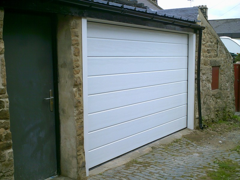 Insulated Sectional Garage Door (After)