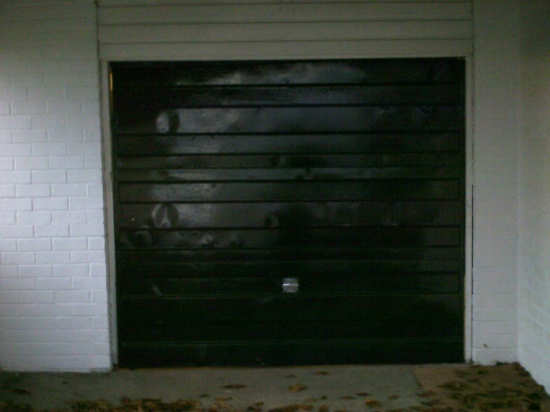 Wentwood Up & Over Garage Door (Before)