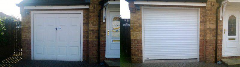 Roller door (After)