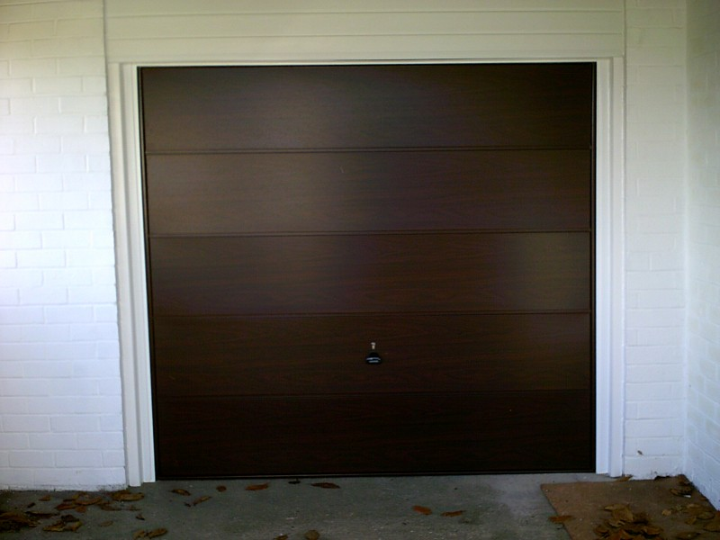 Wentwood Up & Over Garage Door (After)