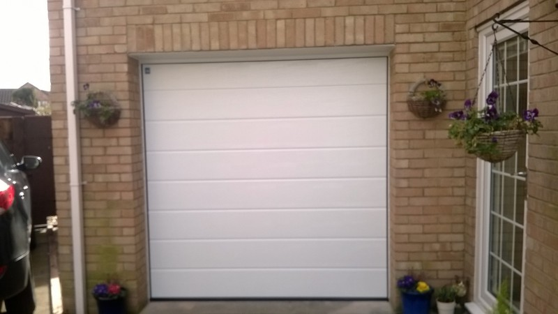 sectional door (After)