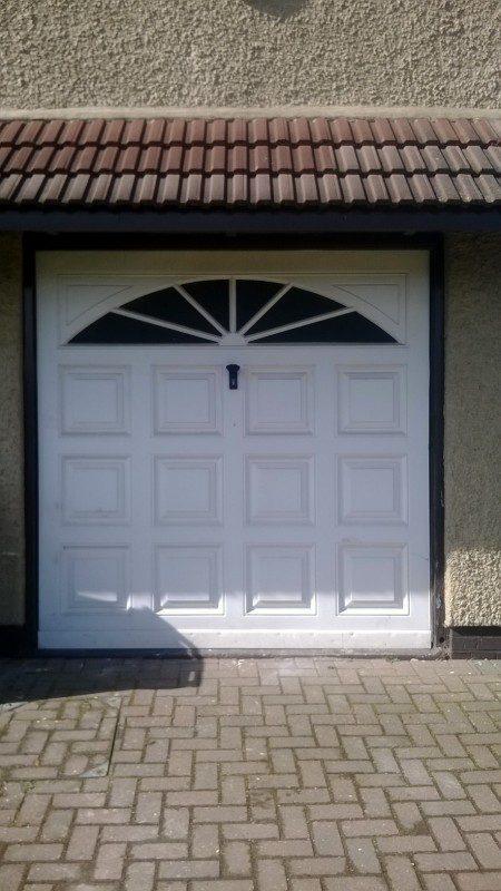 Insulated Roller door (Before)