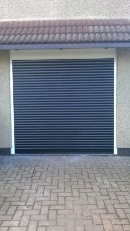 Insulated Roller door (After)