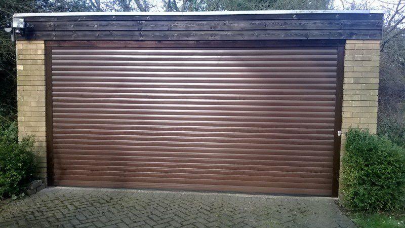 Double insulated roller door (After)