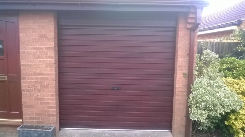 GDS Single Skin Roller door (After)