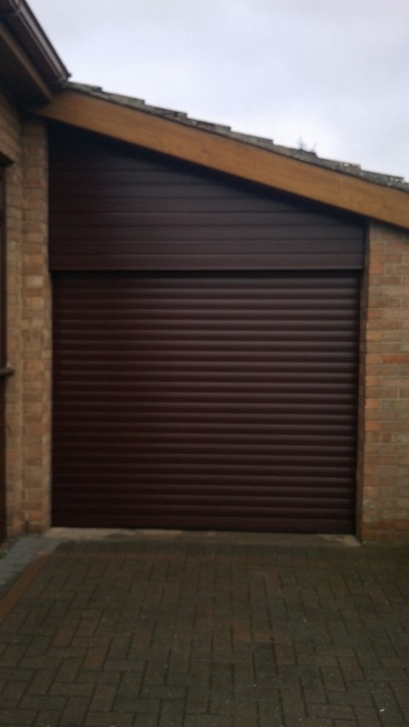 Insulated Roller Door (After)