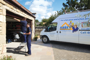 The Abbey Team In Action Abbey Garage Doors