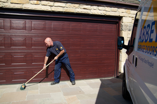 Garage Door, Cleaning Up
