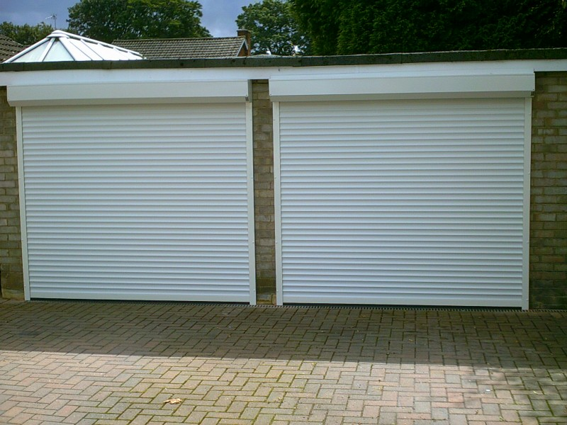 Seceuroglide External Fit Insulated Garage Doors (After)