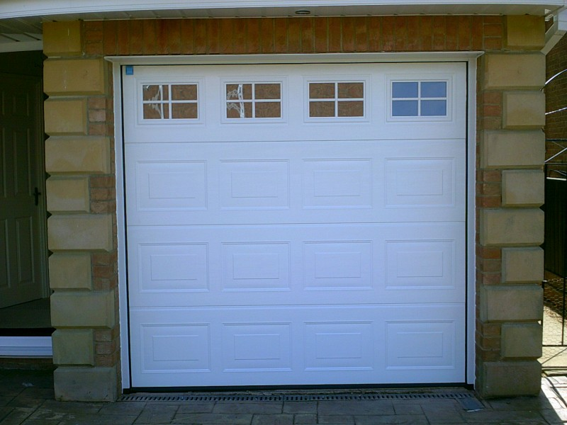Garador Georgian Style Sectional Door Abbey Garage Doors