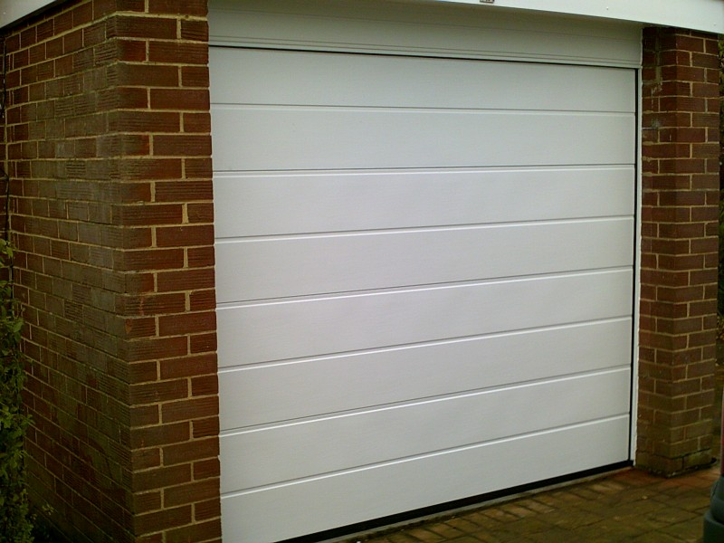 Rib Style Sectional Garage Door (After)