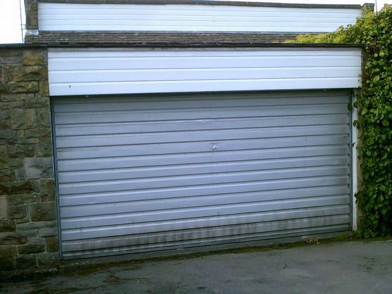 Double Insulated Roller Garage Door (Before)