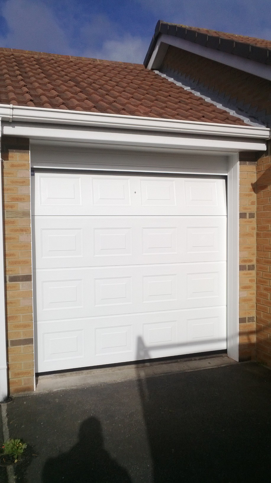 Single Size Rib Style Sectional Garage Door (After)