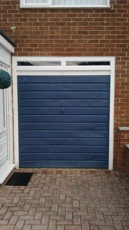 Insulated Roller Garage Door (Before)