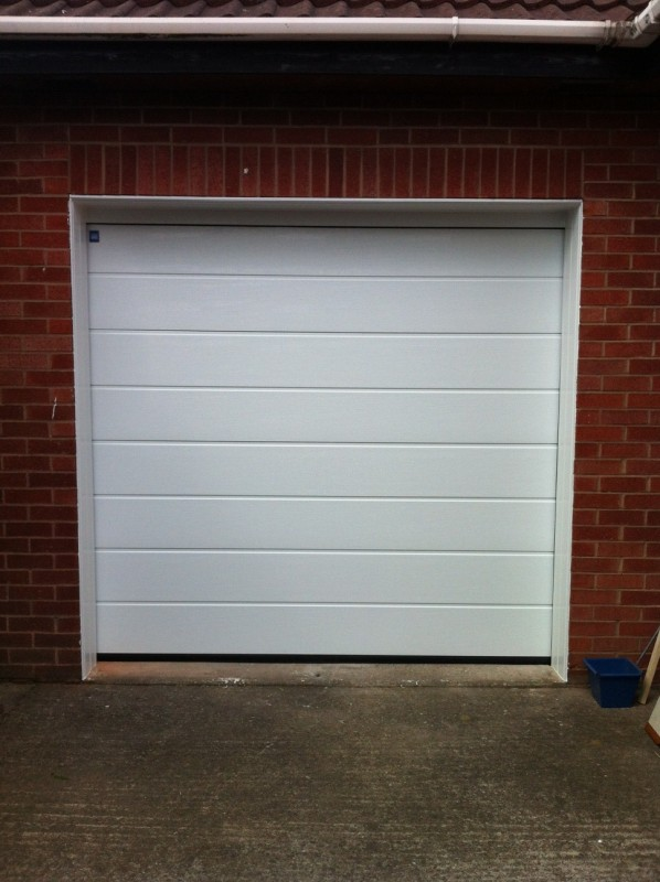 Sectional Garage Door (After)