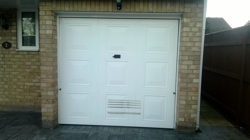 SWS Insulated roller door (Before)