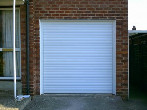 Insulated Roller Garage Door (After)