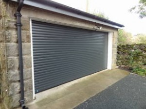 Anthracite Grey Gararoll Roller Garage Door (After)