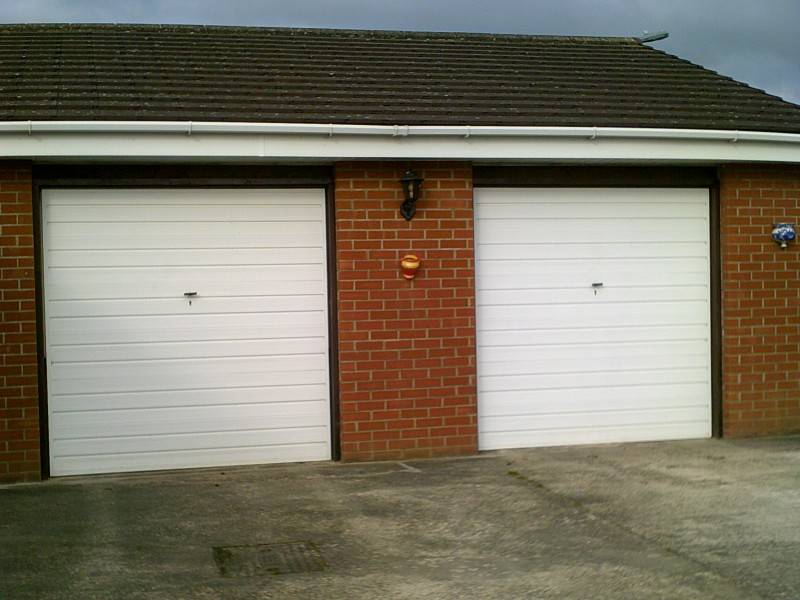 Two Sectional Garage Door (Before)
