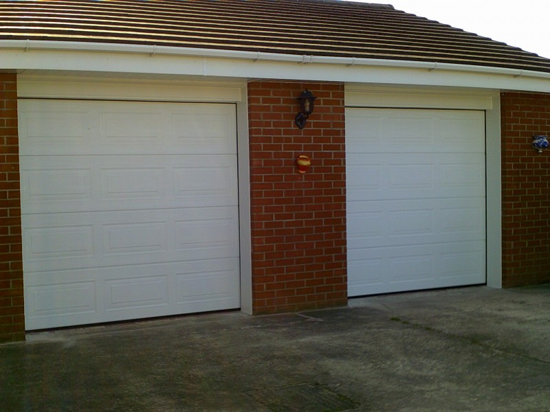 Two Sectional Garage Door (After)