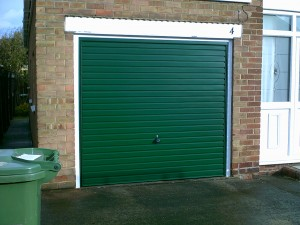 Green Up and Over Garage Door (After)