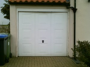 Wentworth Up and Over Garage Door (Before)