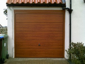 Wentworth Up and Over Garage Door (After)