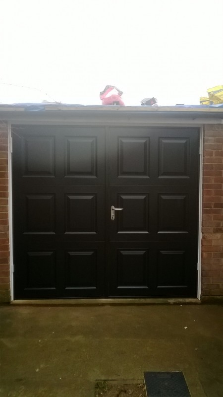 Side Hinged Garage Door (After)
