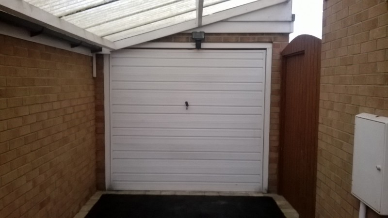 Roller door (Before)