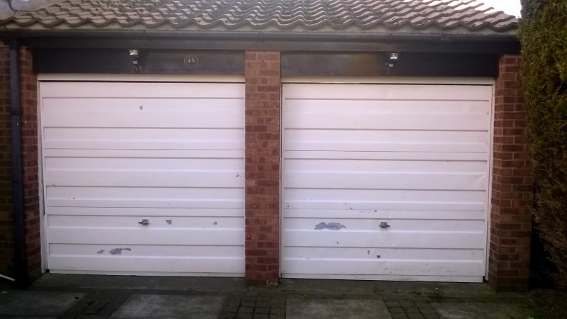 roller doors (Before)