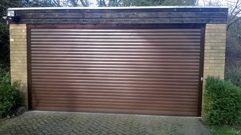 Double insulated roller door (After)