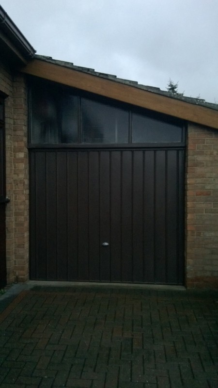 Insulated Roller Door (Before)
