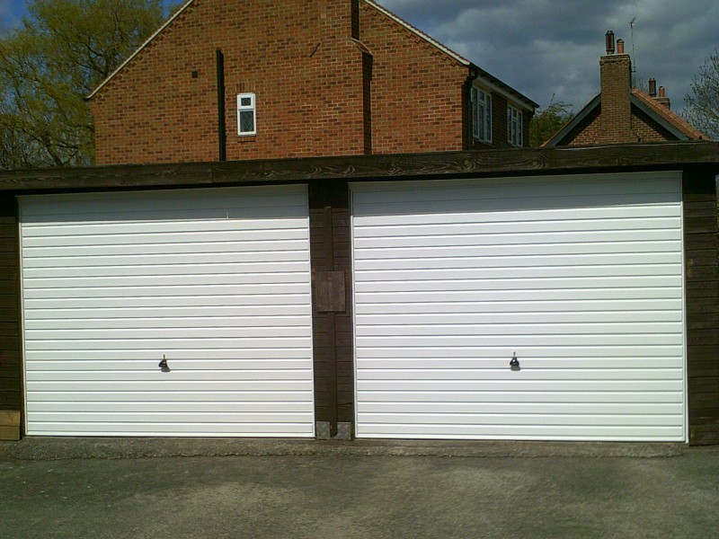 Rib Styly Up and Over Garage Doors (After)