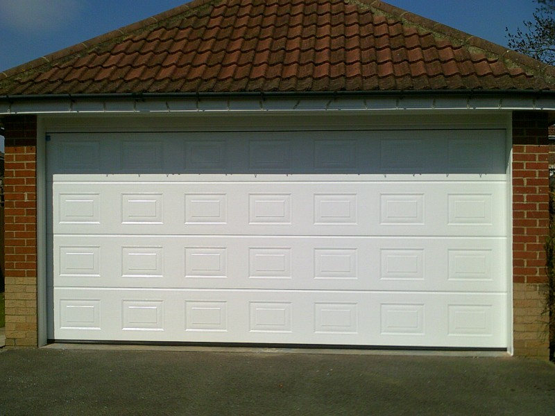 Double Sectional Garage Door (After)